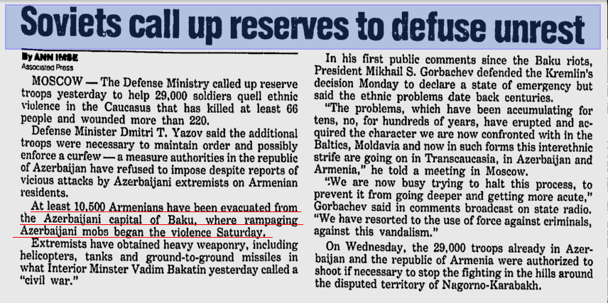 Herald Journal. Soviets call up reserves to defuse unrest
