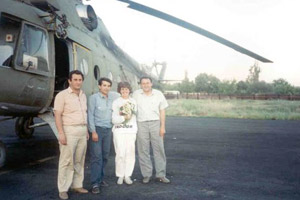Visit to the Armenian-Azerbaijani Border, May 25-29, 1991