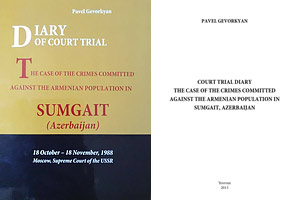 The case of the crimes committed against the Armenian population in Sumgait, Azerbaijan